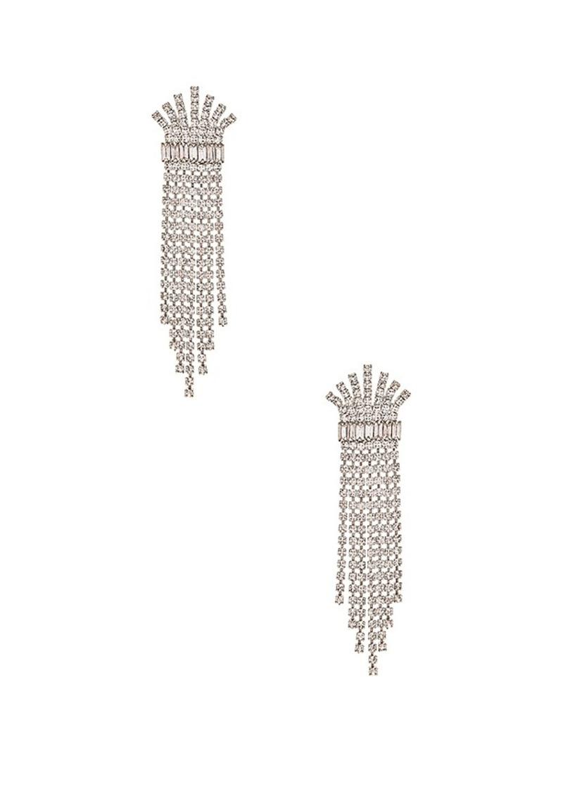 Elizabeth Cole Crystal Fringe Earring