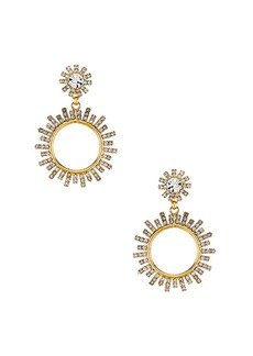 Elizabeth Cole Crystal Statement Earrings