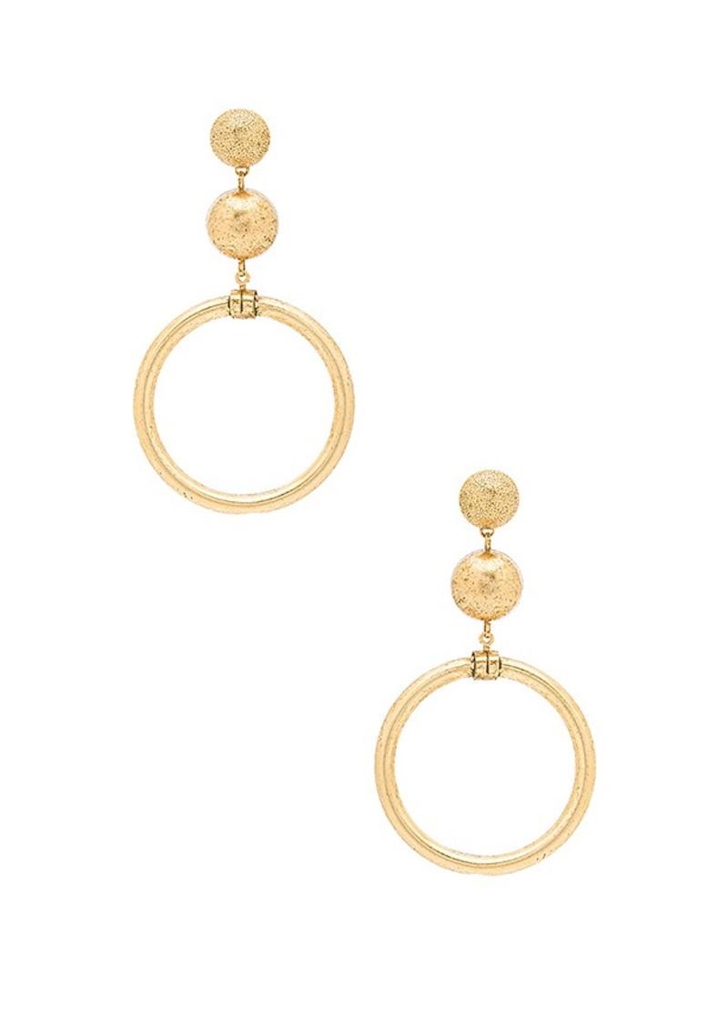 Elizabeth Cole Drop Earrings