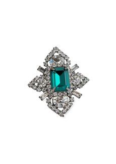 Elizabeth Cole Eden Crystal Ring