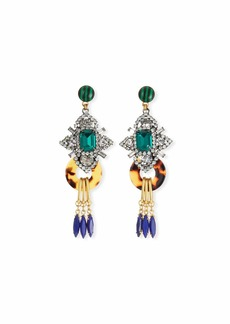 Elizabeth Cole Edwina Geometric Drop Earrings