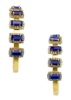 Elizabeth Cole Jalus Hoop Earrings