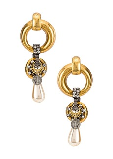 Elizabeth Cole Limone Earrings