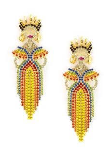 Elizabeth Cole Mirabelle Rio Dancer Earrings