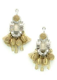 Elizabeth Cole Olette Crystal Drop Earrings