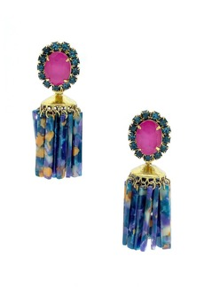 Elizabeth Cole Raakel Tassel Drop Earrings