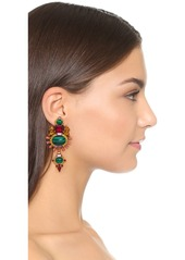 Elizabeth Cole Sunny Ruby Earrings