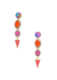 Elizabeth Cole Teagan Stone Drop Earrings