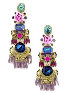 Elizabeth Cole Tutti Drop Earrings
