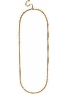 Elizabeth Cole Woman 24-karat Gold-plated Necklace Gold
