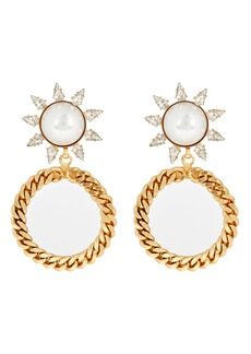 Elizabeth Cole Ellie Circle Drop Earrings
