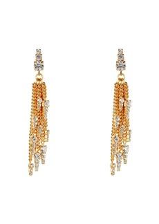 Elizabeth Cole Gretel Chain-Link Fringe Earrings