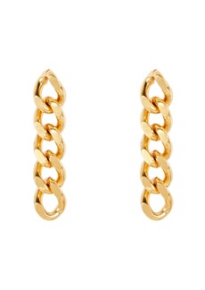 Elizabeth Cole Libby Curb Chain Earrings