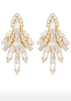 Elizabeth Cole Lil Billie Crystal Drop Earrings