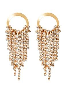 Elizabeth Cole Rowan Crystal Fringe Earrings