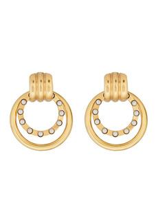Elizabeth Cole Sadie Doorknocker Earrings