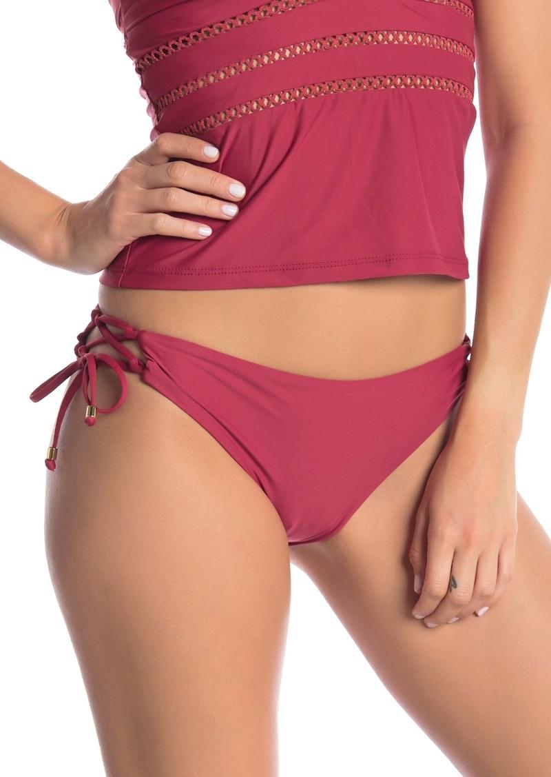 Ella Moss Crafty Side Tie Bikini Bottoms