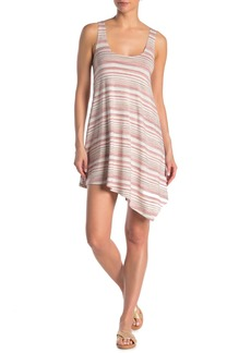 Ella Moss Easy Breezy Striped Cover-Up Tank Dress