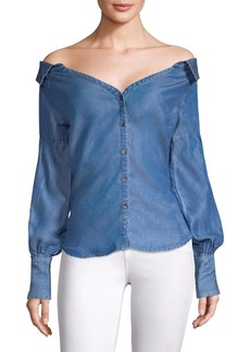 Ella Moss Anastasia Denim Top