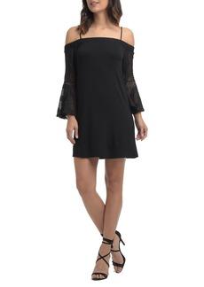 Ella Moss Annalia Lace Cold Shoulder Dress