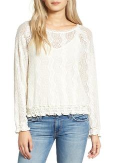 Ella Moss Annalia Lace Shirt