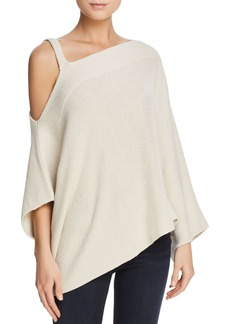 Ella Moss Asymmetric Cold-Shoulder Sweater