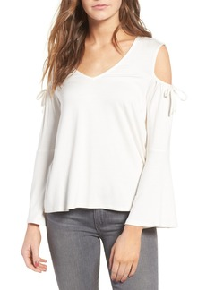 Ella Moss Bella Bell Sleeve Cold Shoulder Top