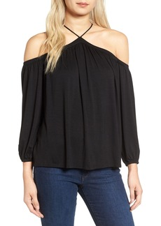 Ella Moss Bella Cold Shoulder Blouse