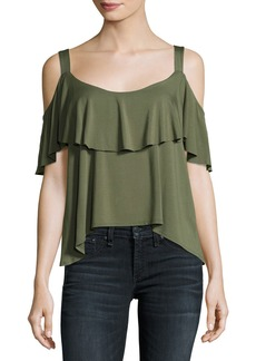 Ella Moss Bella Envelope Cold-Shoulder Top