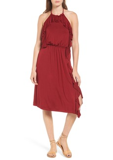 Ella Moss Bella Ruffle Halter Dress