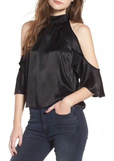 Ella Moss Bianka Cold Shoulder Swing Top