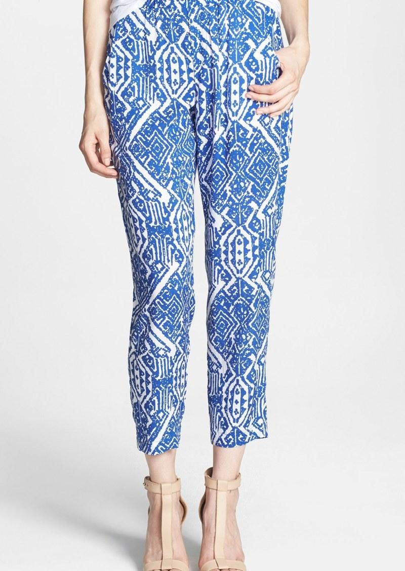 Ella Moss 'Biarritz' Print Crop Pants