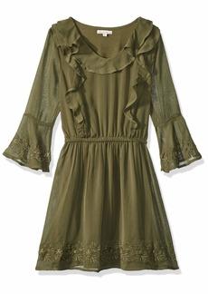 Ella Moss Big Girls' Bell Sleeve Dress  7/8