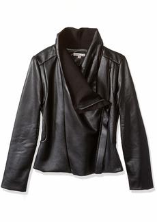 Ella Moss Big Girls' Knit Suede Jacket