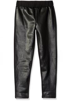 Ella Moss Big Girls' SA Faux Leather Legging