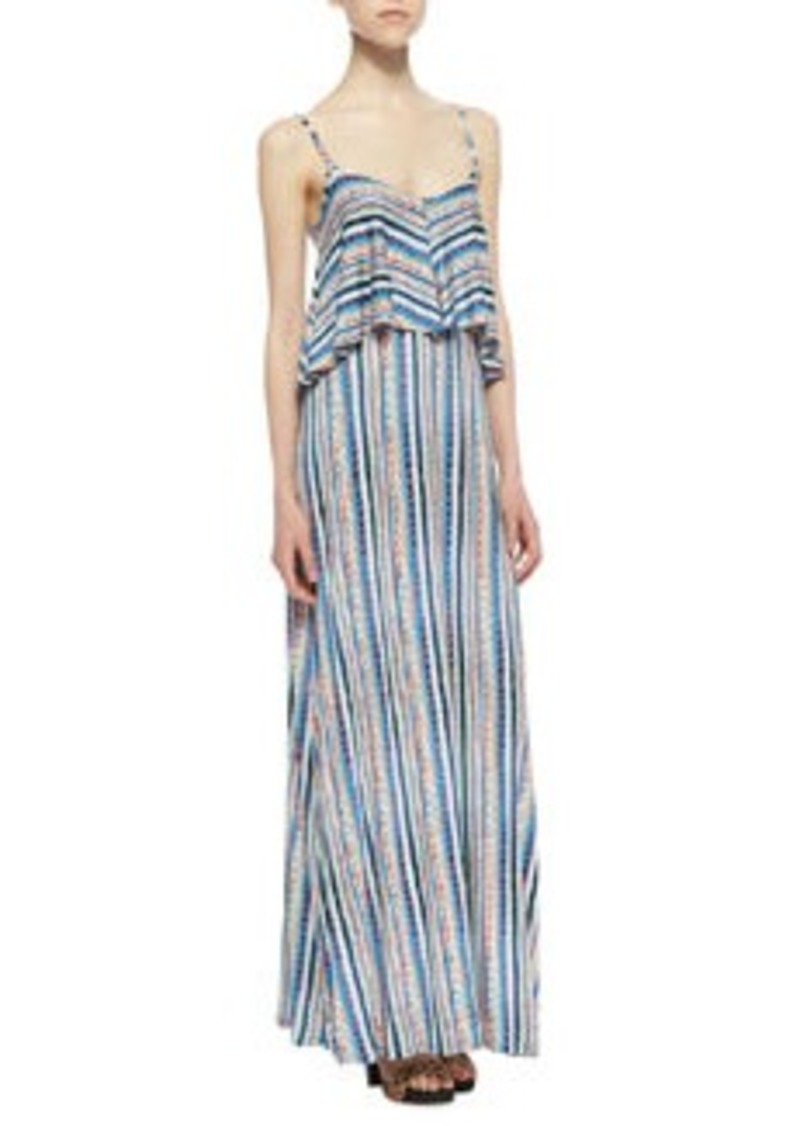 Ella Moss Bondi Striped Tiered Maxi Dress