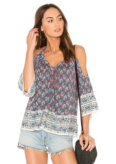 Ella Moss Bordeaux Tapestry Top