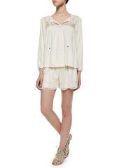 Ella Moss Carole Lace Shorts