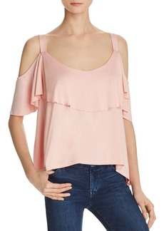 Ella Moss Cold-Shoulder Top
