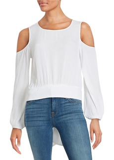 ELLA MOSS Crepe Tie-Back Top