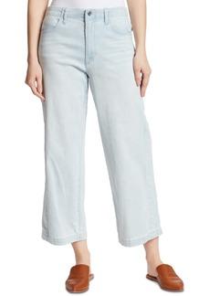 Ella Moss Cropped Wide Leg Jeans