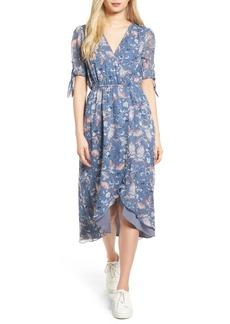 Ella Moss Dreamer Wildflower Silk Dress
