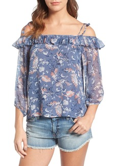 Ella Moss Dreamer Wildflower Silk Top
