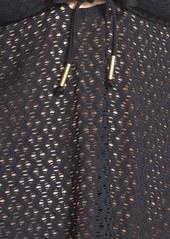 Ella Moss 'Ebony' Crochet Keyhole Bandini Top