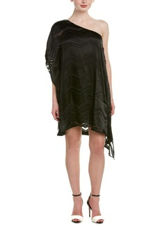 Ella Moss Ella Moss One-Shoulder Silk-Blen...