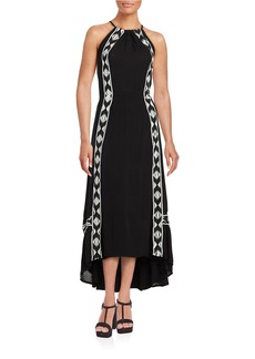 ELLA MOSS Embroidered Hi-Lo Dress