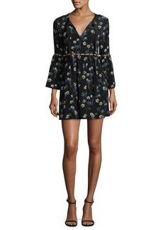 Ella Moss Floral Crewneck Dress