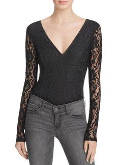 Ella Moss Floral Lace Bodysuit