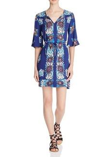 Ella Moss Floral Print Dress