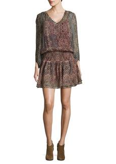 Ella Moss Flouncy Silk Dress